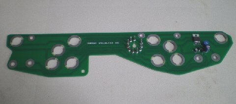 68-70 B BODY NON RALLYE DASH CIRCUIT BOARD WITH BUILT IN LIMITER