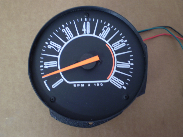 66 PLYMOUTH BARRACUDA DASH TACHOMETER