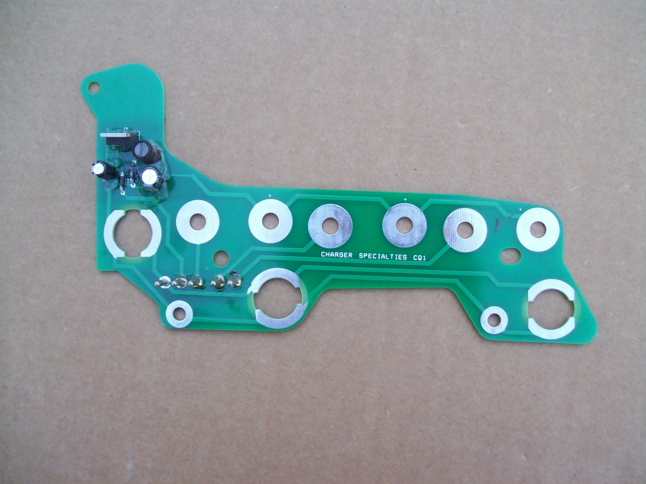 68-70 B BODY RALLY DASH CIRCUIT BOARD WITH BUILT IN LIMITER